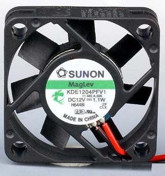 Sunon Ventilator 12V 40×40x10 13,5m³/h 32dBA 1,1 W