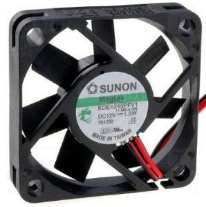 Sunon Ventilator12V DC 45×45x10, 19m³/h 32dBA 1,2W