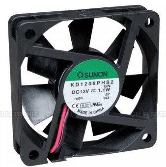 Sunon Ventilator12V DC 60x60x15 1.1W