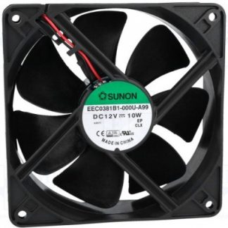 Sunon Fan 12V DC 120x120x38/10W