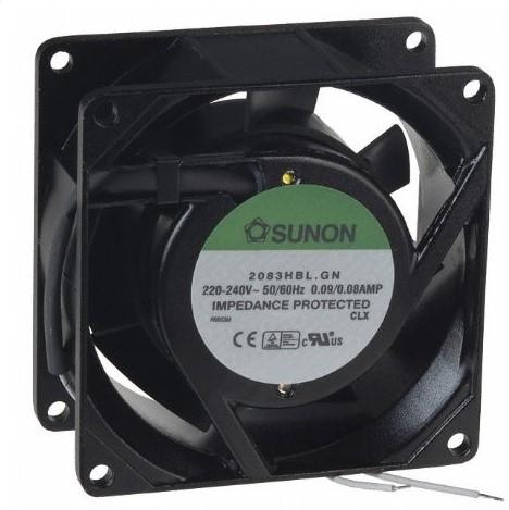 Sunon Ventilator 230V AC 80x80x38/39 m³/h