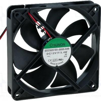Sunon Fan 12V DC 120x120x25/5,4W