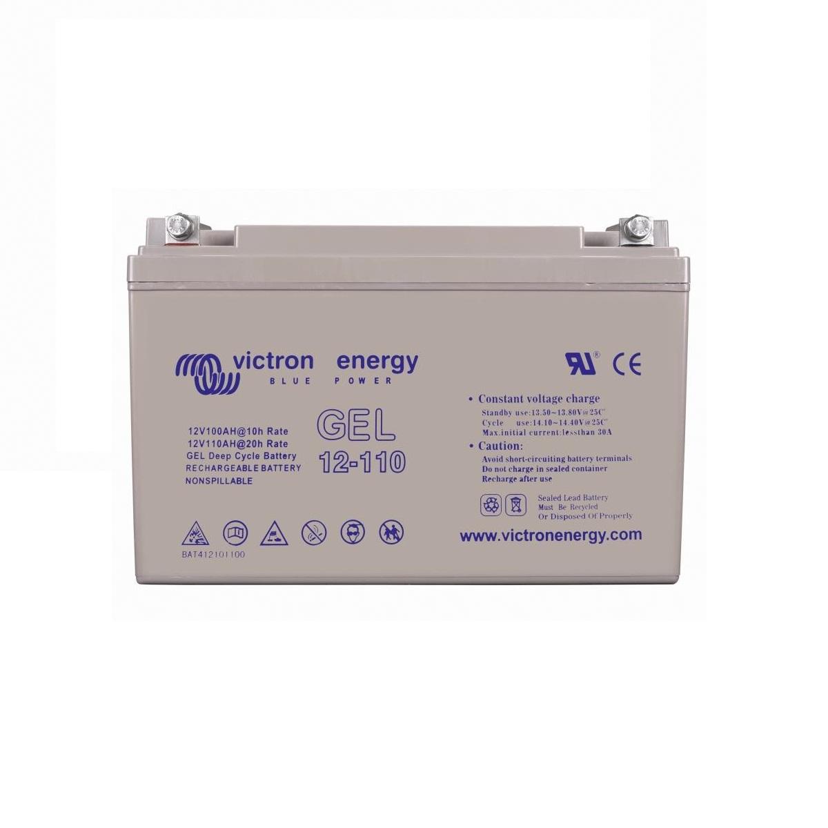 Victron GEL Deep Cycle Batteri 12 Volt (60-220Ah)