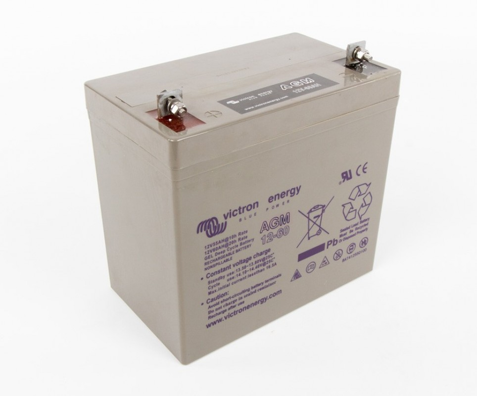 Victron AGM Deep Cycle Batteri 12 Volt (8-220Ah)