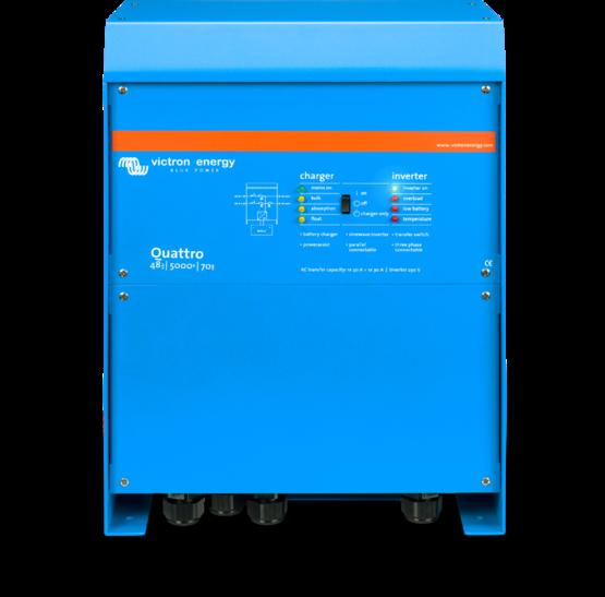 Victron Energy Quattro 24/5000, Inverter/oplader