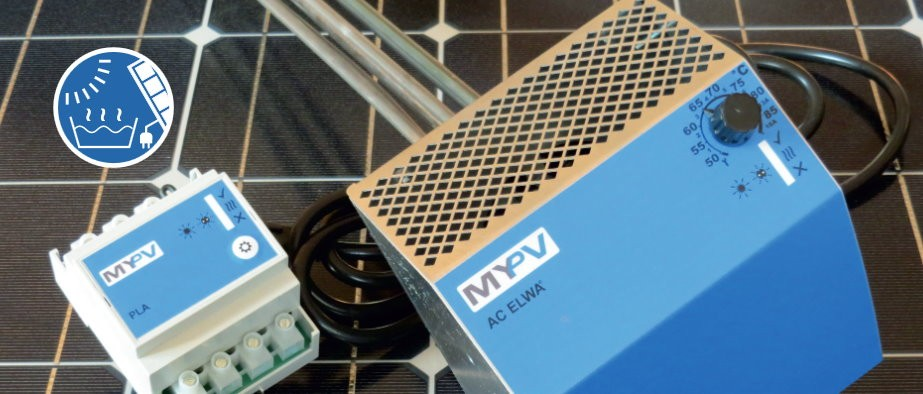 Hot water systems with solar PV