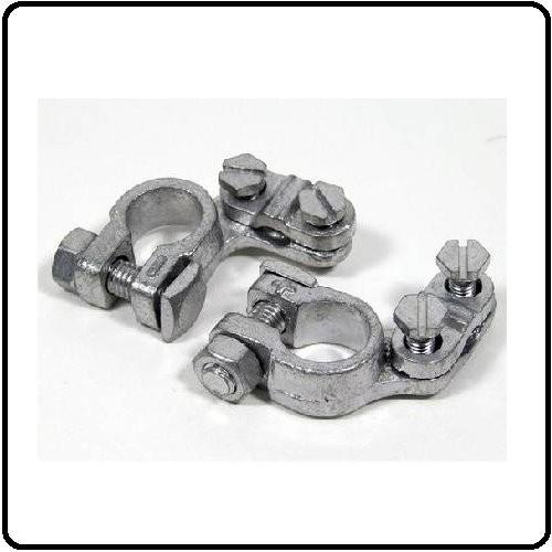 Polklemmer til Batteri (+ og -) Aluminium