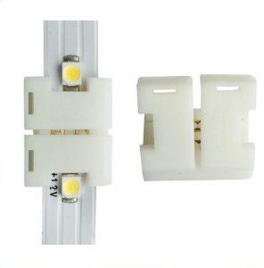 Connector til fleksible led bånd 120 dioder smd 8mm