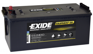 Exide EQUIPMENT Gel Batteri ES2400 12V 210Ah