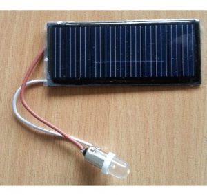 Eksperiment sæt: solcelle 5.5V med 6V LED pære