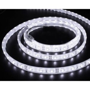 5m Fleksibel bånd, 150LED SMD, hvid lys, 6000K