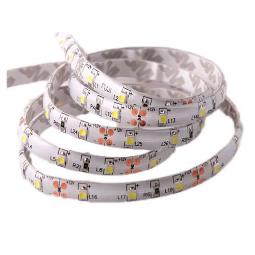 Fleksibel LED-bånd SMD 240lm/m vandtæt lys stribe/hvid