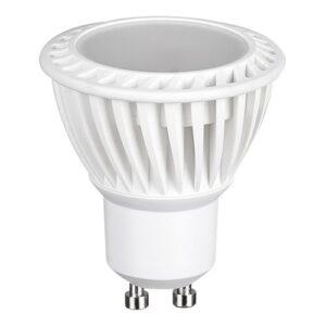LED Spotlys 4W,230V, GU10, varmt /hvid