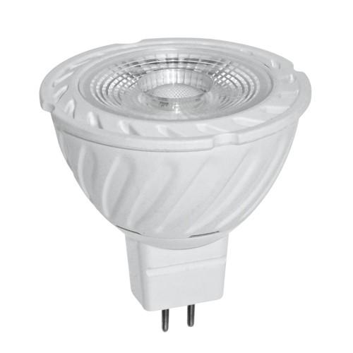 -LED spotlys 6W, 12V AC/DC, MR16, 2700K-4200K
