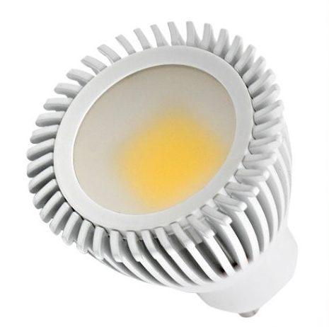 LED Spotlys 6W,230V, GU10, varmt /hvid