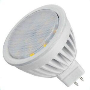 12V / 4W SMD LED Bulb MR16 socket warm / white