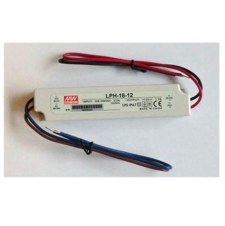 LED strømforsyning Mean Well LPH-18, 12V, 24V, 36V