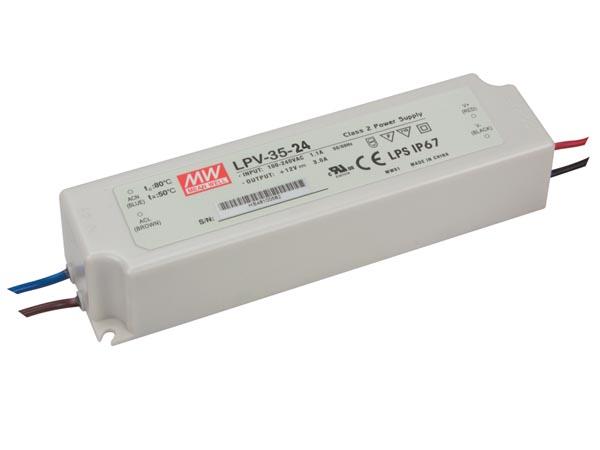 5m Fleksibel 60LED-bånd SMD, RØDT lys med strømforsyning