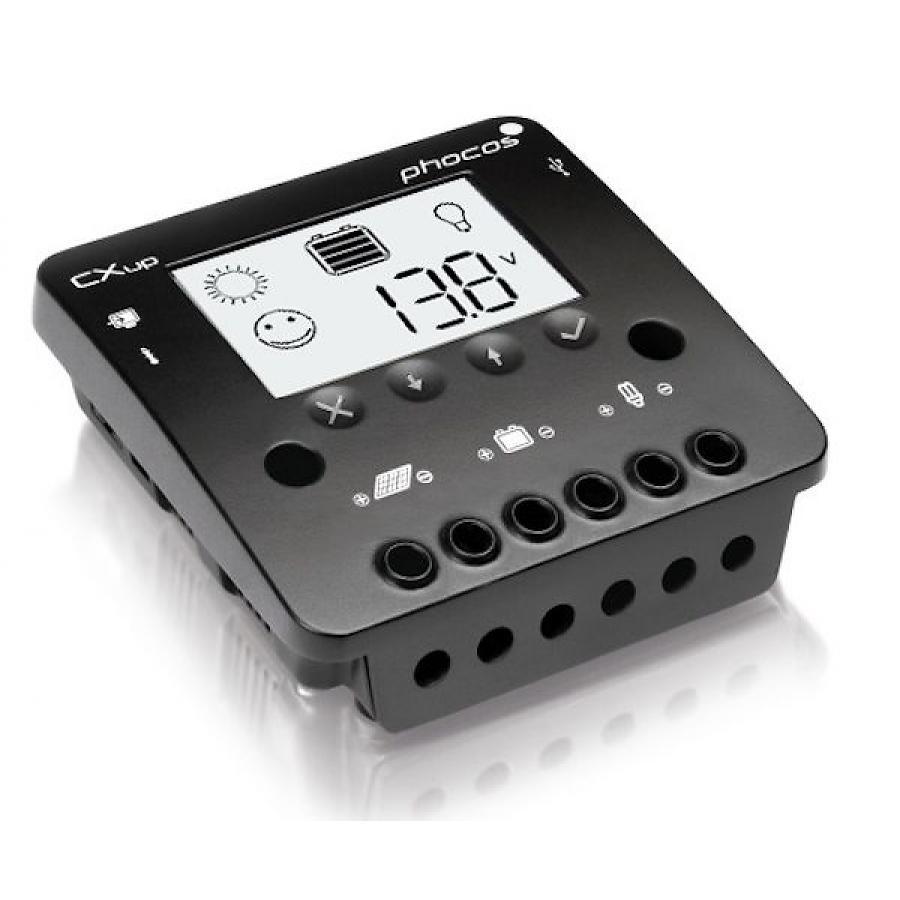 Solar Charge Controller Phocos Cxup 10-20-40A, 12/24V, USB, display