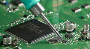 Print restoration, soldering, desoldering, troubleshooting