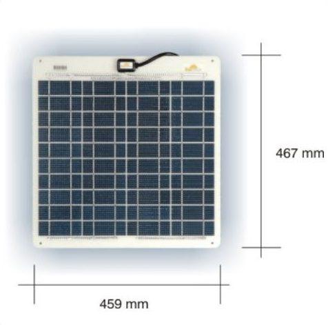 Marine Solceller 24W/12V Sunware SW 3063