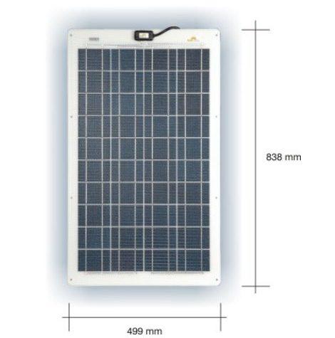 Marine Solceller 48W/24V Sunware SW 3265