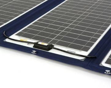 Marine fleksibel solcelle 152W / 12V Sunware TX 42039