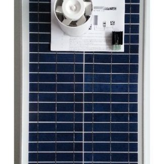 Ventilation kit with solar module KCVR20