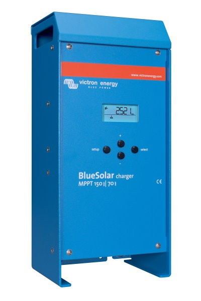 Victron BlueSolar laderegulator MPPT 150/70 12/24/48 Volt ( maks 150V, 70A)