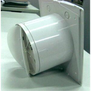 Klapventil til 12V/4W rørventilator WallAir 100mm
