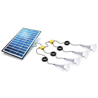 4 T-Lite 180 Solar Lightkit White Sundaya