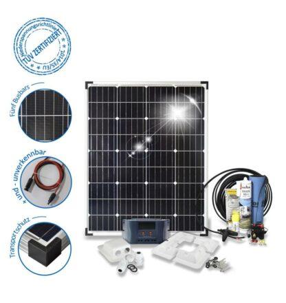 100Watt Solar PV System Basic-100- corner profile