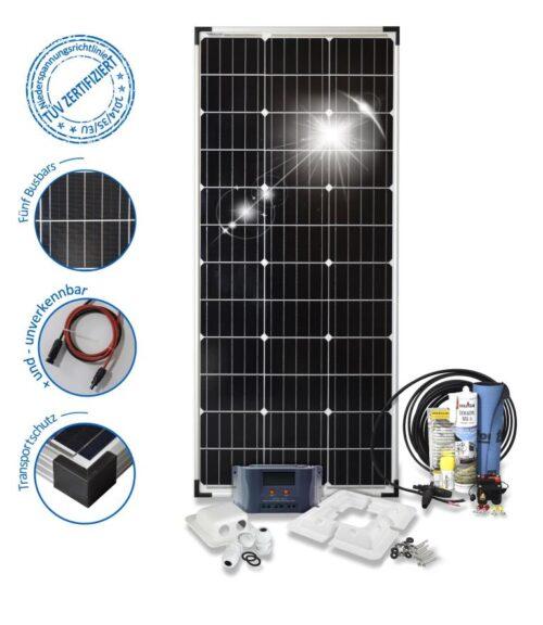 100Watt Solar PV System Basic-100-s-corner profile