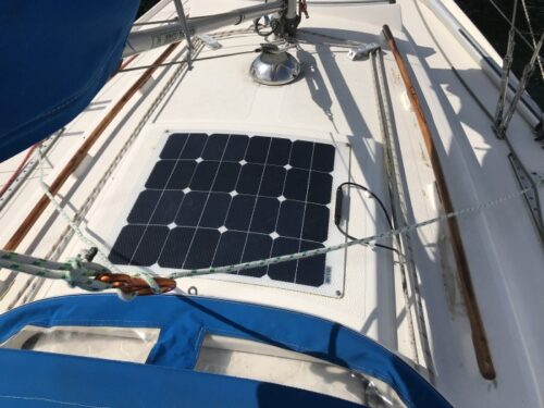 Phaesun Solcelle 55W12V Semiflex til båd, campingvogn