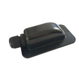 Roof Duct Water Proof One Black