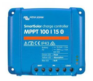 Solladdningsregulatorer PWM- och MPPT