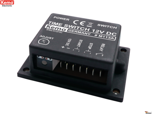 Time switch 12 - 15 VDC M113A