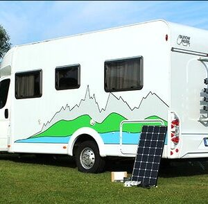 Caravan Solar PV