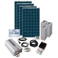 Energy Generation Kit Solar Rise Eight 2Kw/48V