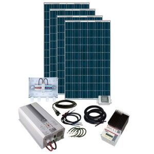 Energy Generation Kit Solar Rise Eight X 2Kw48V