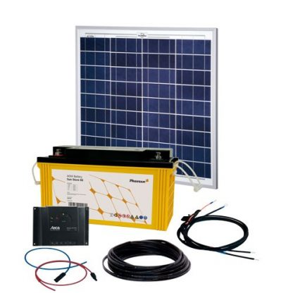 Energy Generation Kit Solar Rise One 2.0 50W12V