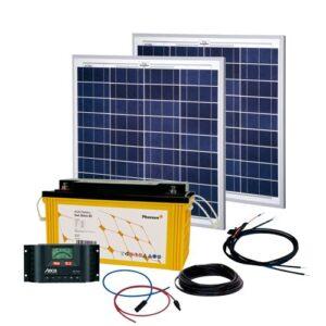 Energy Generation Kit Solar Rise Two 2.0 100W12V