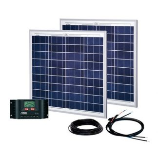 Energy Generation Kit Solar Up Two 100W/12V
