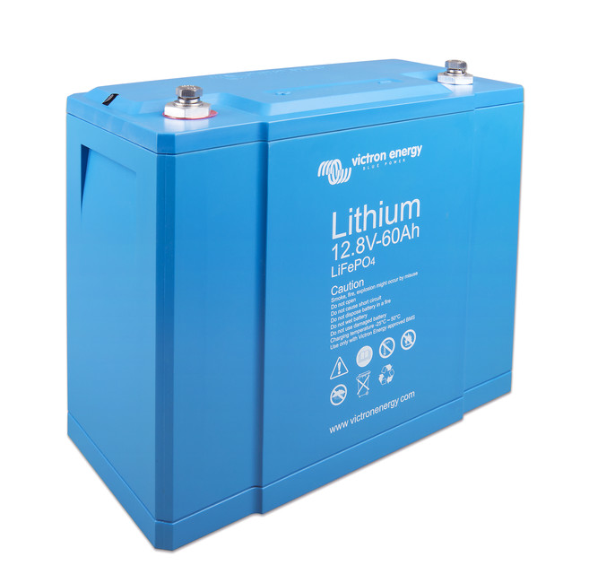 Victron battery Lithium-12.8V-60Ah_left