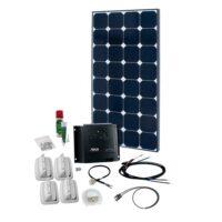 SPR Caravan Kit Solar Peak Four 5.0
