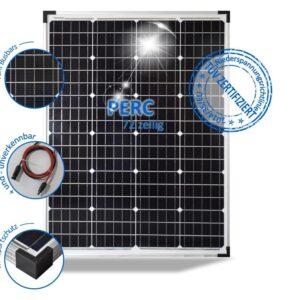 100Wp 24V Solar Module PV-100-M-72, Monocrystalline, Wide