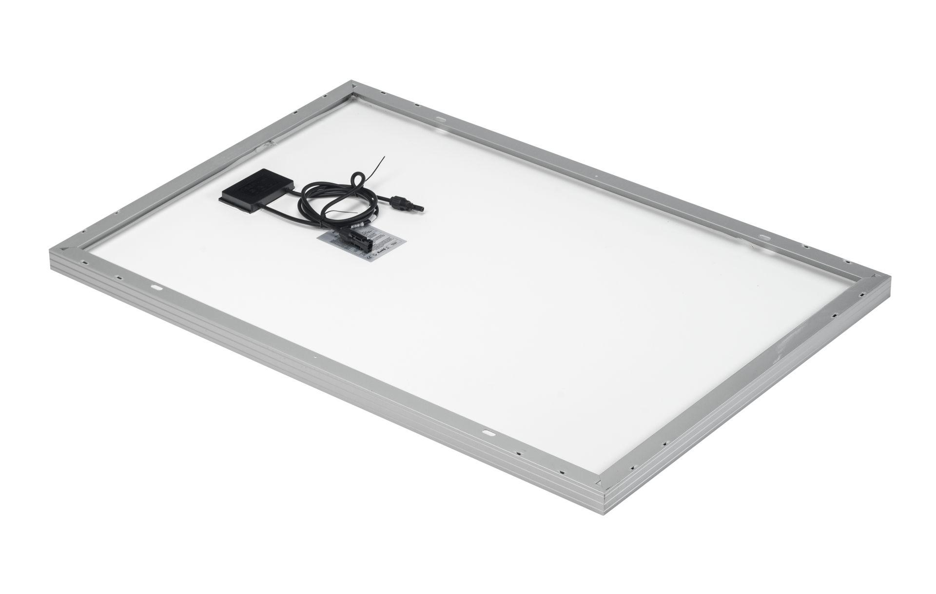 Solar panel PV-100-M-36_back