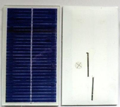 Mini-solar module-15V-66mA-1W