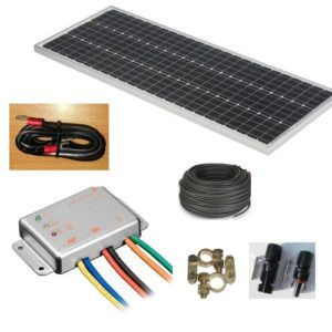 Photovoltaic System SC100 ECO, 100Watt, WITHOUT battery