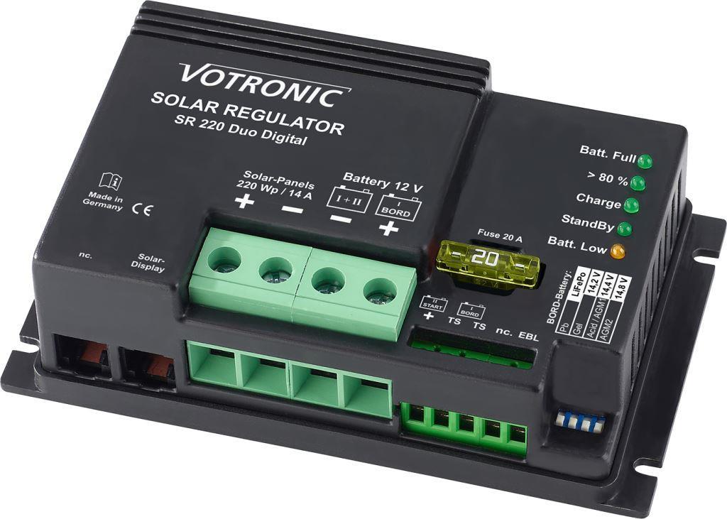 Votronic Solar- SR 220 Duo Dig